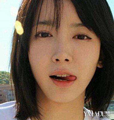 【图】韩范儿短发女生发型青春让你更加大全适合圆脸的齐刘海视频图片