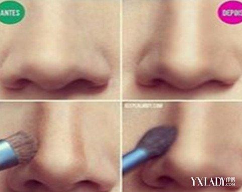 【图】怎么用眉粉画鼻影 两种简单实用的画鼻影的方法