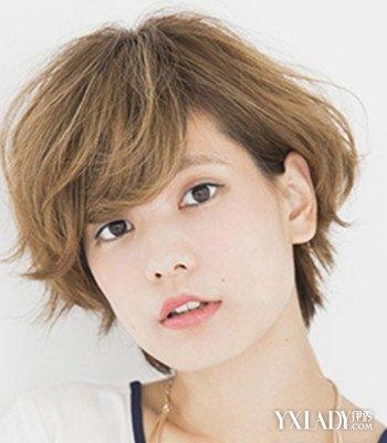 适合圆脸的短发发型图片2014女生发型 尽显迷人魅力图片
