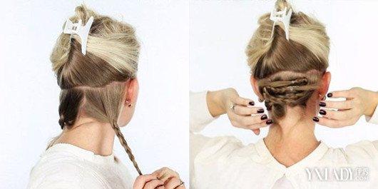 【图】时尚新娘发型详细步骤 好看发型自己弄不求人