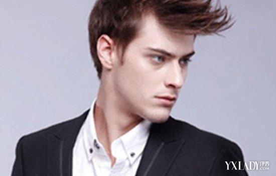 【图】发量少适合什么发型男图片