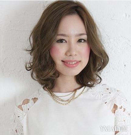 短头发造型烫发推荐 夏季修颜减龄佳图片