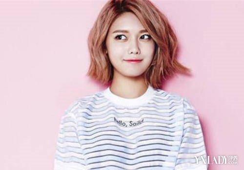 【图】短发女明星韩国流行发型欣赏 短发尽显俏皮可爱