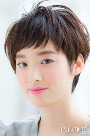 【图】头发少适合剪的发型法系图片展示4款头发型日短发扎图片