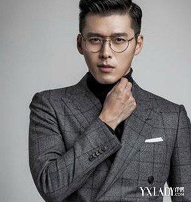 长脸帅哥示范男生韩式_发型设计图片