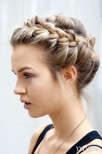 【图】小卷长头长发图片欣赏发型发适合的发侧边编发怎么固定图片