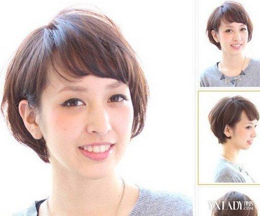 女生超短碎发发型图分享展示图片