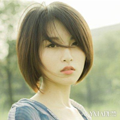 发型窄女生女生做爱圆脸巧用刘海修饰脸v发型适合额头想图片