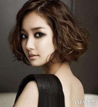 韩国超短烫发图片2018女 四款发型总有你喜欢的图片