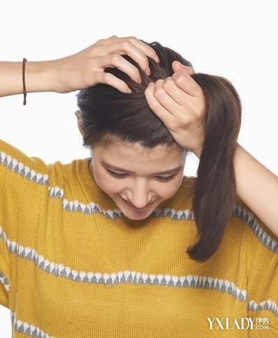 【图】简单扎头发的技巧图解方法扎发让你尽索吻个性图片