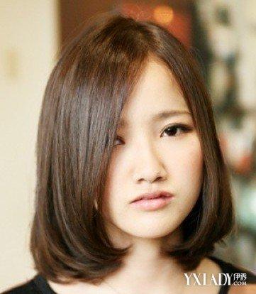 【图】圆方脸适合什么发型图片 15种发型随你选图片