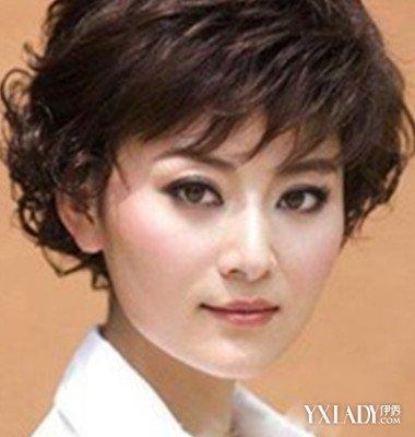 中年短发发型波波头适合什么脸型 显年轻的造型图片