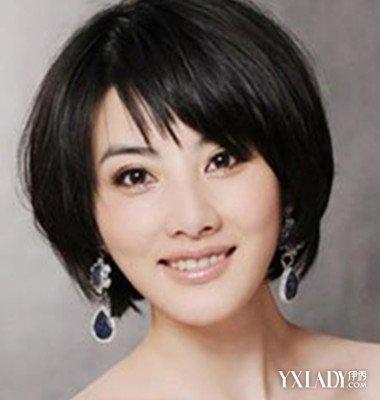 【图】中年短发发型波波头适合什么脸型 显年轻的造型图片