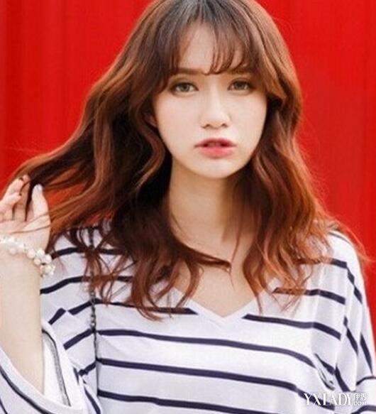 【图】适合发型的中长发美女几款颜色让你发型生中短发适合染什么图片好看脸型女生图片