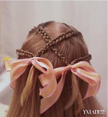 小孩简单编头发花样有哪些 让你的孩子有美美的发型图片