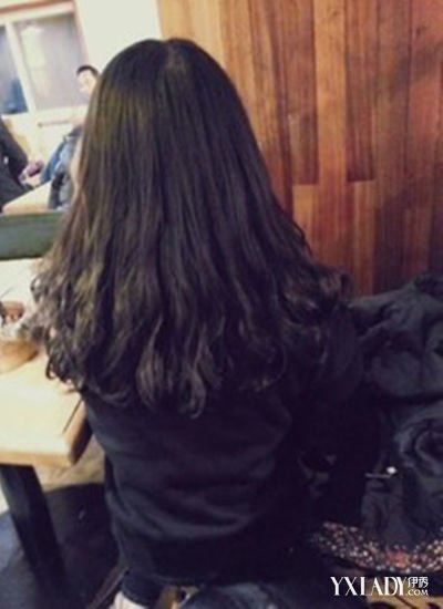 黑长头发卷发发型图片展示图片图片