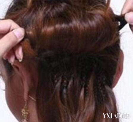 【图】花样盘发器的使用方法图解