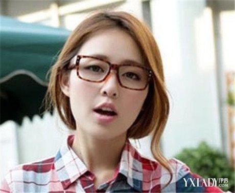 【图】圆脸戴眼镜适合的短发有哪些 4款发型让你完美展现自己图片
