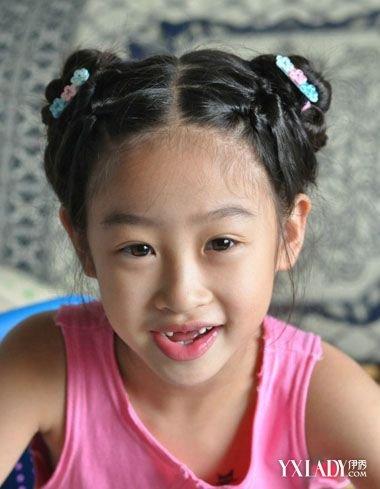 【图】发型生新娘短发扎法有哪些?教你扎洋气造型小女齐刘海图片
