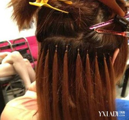 辫接头发的步骤分享展示