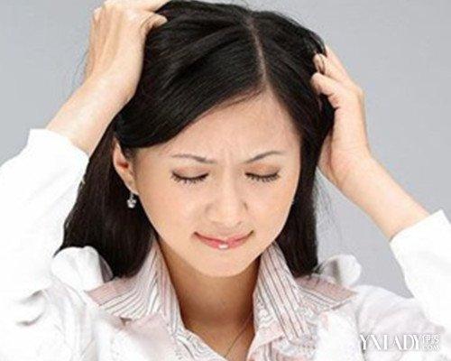 【图】技巧女生头发稀少让你轻松摆脱给吹额头头发女生图片
