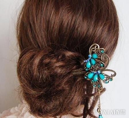 【图】怎么用簪子盘头发简单好看? 教你5步盘好头发