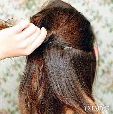 可是长发盘发扎法的方法何其多,而最难的是半长不短的齐肩短发发型,短
