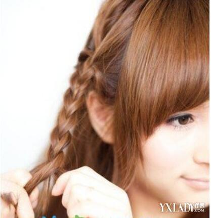 【图】耳朵侧面编发发型教程图解 教你做最时尚潮流的