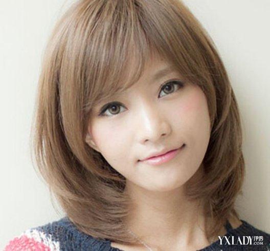 国字脸适合的短发发型图片大全 气质女人味优雅直发