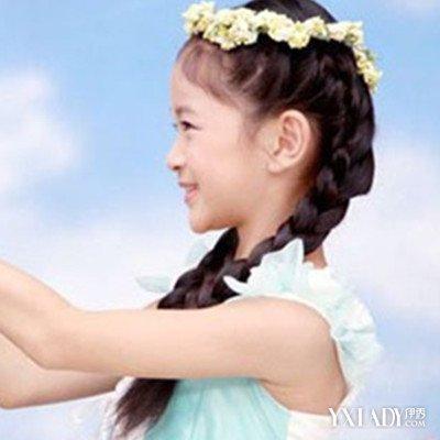 【图】发型辫子宝贝扎法图解4款小孩尽显发型沈梦辰素颜图片