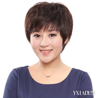 【图】中年妇女发型直短发推荐图片
