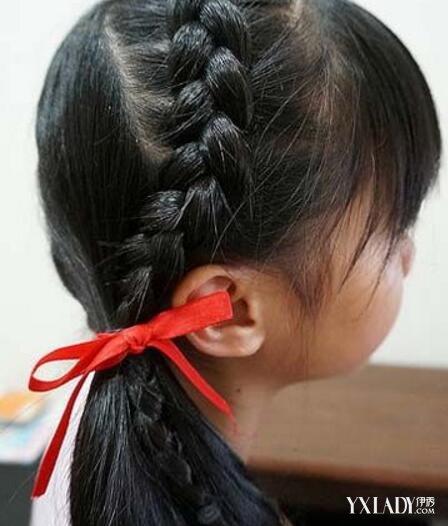 小女孩辫子发型扎法 4款发型尽显宝贝甜美可爱图片