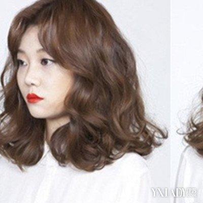 【图】中分中长发小卷烫发款式大推荐 几种发型让你魅力十足 (400x400图片