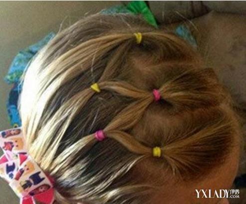 儿童梳头发步骤