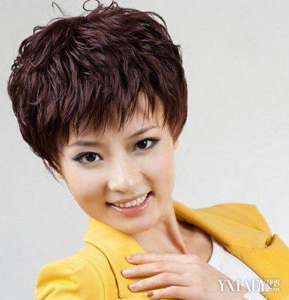 【图】适合女士短头发的发型