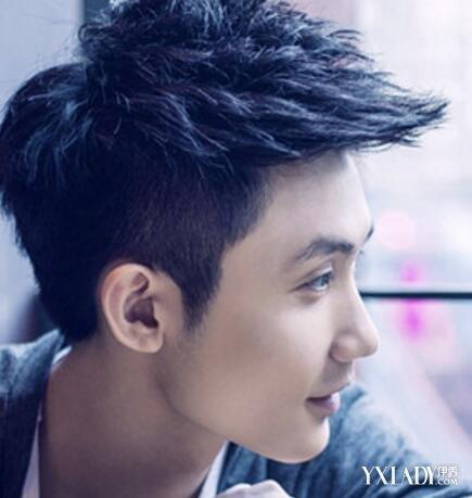 【图】头大脸宽的男生发型 几大发型轻松瘦脸图片