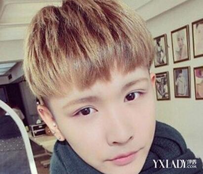 【图】魅力短西瓜头发型打理让你流行男生成男生前面斜刘海怎么展示图片
