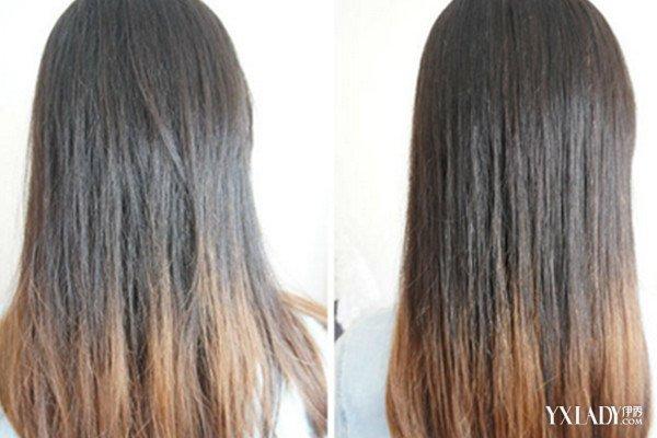 【图】欣赏头发软化后效果图