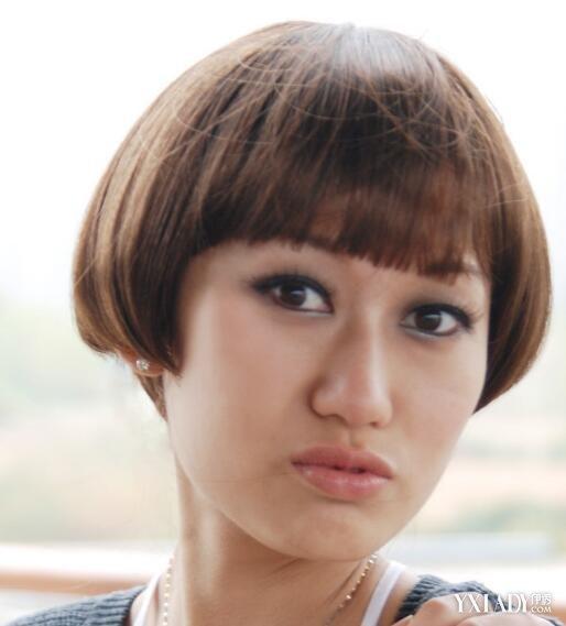 【图】超短刘海齐耳短发发型展示 4款不同风格发型任你选