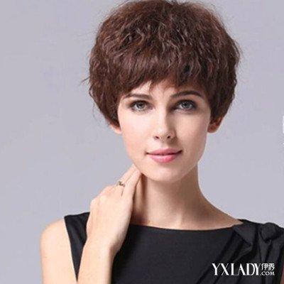 【图】中年女士发型短发造型展示 时尚减龄显优雅气质图片图片