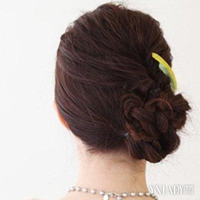 【图】中老年盘头发饰展示 教你4种简单好看的盘发方法