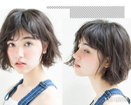 抖音女生帅气短发发型分享展示图片
