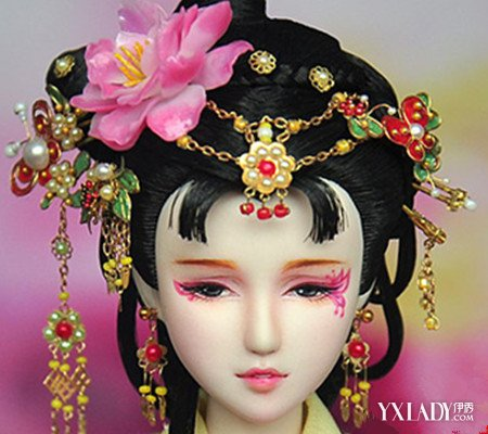 【图】最美的芭比古装发型图解 让您秒变仙女范