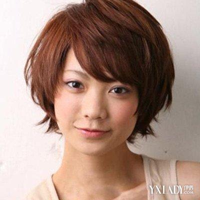 圆形,倒三角形小编点评:这款发型非常的活泼,俏皮,看似简单的短发经过图片