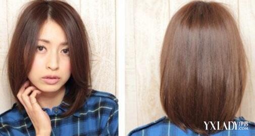 中分中长发微卷发型欣赏 几款甜美清纯发型推荐图片