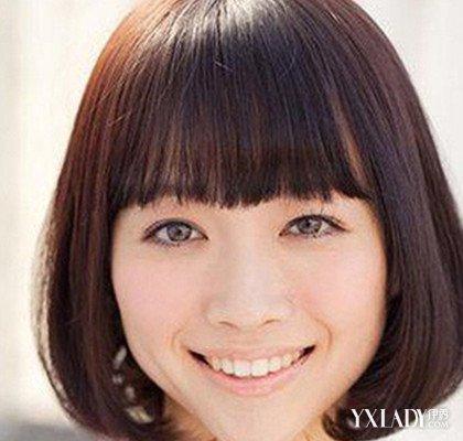 胖脸圆脸女生适合的发型 让你在视觉上成为瘦子的发型大全图片
