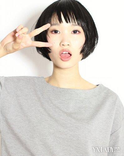 【图】圆脸短发发型图片2016女图片图片