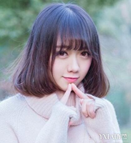 【图】适合高中生的短发v短发4款发型让你a短发齐刘海的头发怎么扎图片