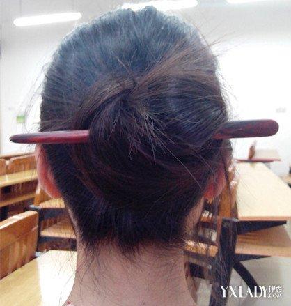 【图】怎么用簪子盘头发图解是怎样的 教你不同的三种