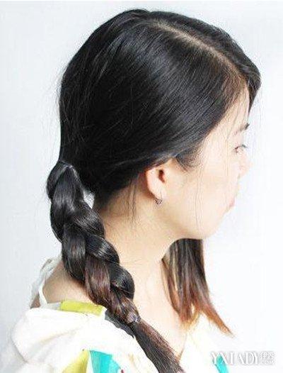 【图】中学生简单的盘发方法图解为你分分享奶教程结真人视频图片